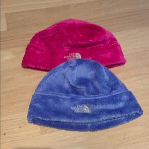 Arely worn north face hats